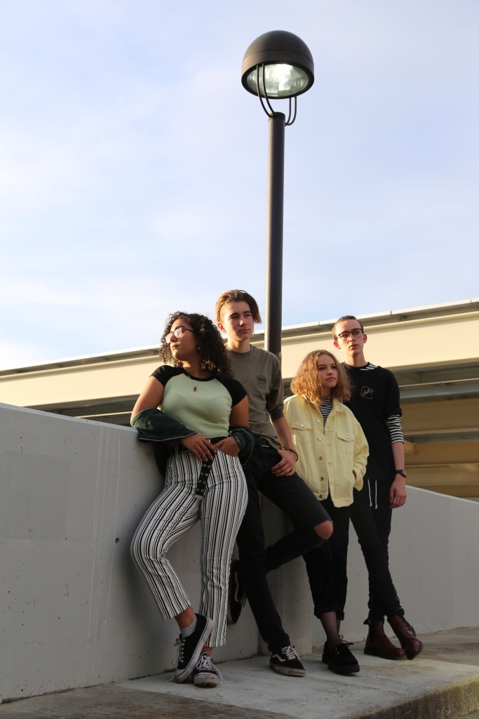 METRO is an indie alternative rock band from Palo Alto, California. The band was formed in 2018 by pianist Toni Loew, singer and guitarist Marina Buendia, bassist Joseph Cudahy and drummer Rein Vaska.